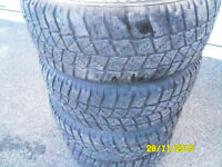 """winters tires  14,15,16,17,and 18"""" available"""