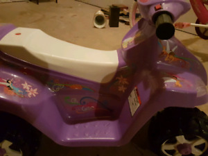 Princess battery bike