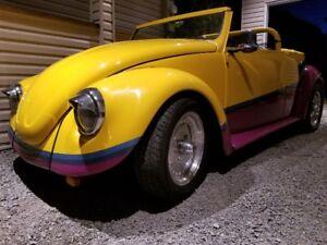 Volkswagen Beetle Volks buggy Dune buggy Bug Porche Audi