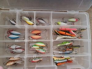 Ice fishing rods reels gear lures rapala northland