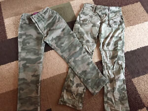 8 Pairs of Size 7 Girls Pants