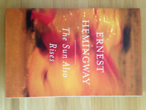 Sun Also Rises by Hemingway NEW scribbler edition