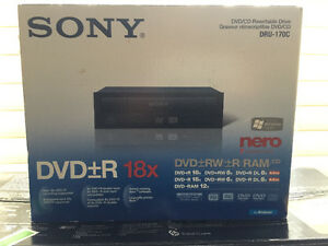 Sony DVD Player with rewritable Drive