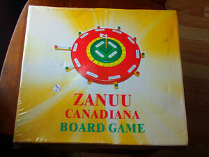 Zanuu Canadiana New Never Opened Board Game