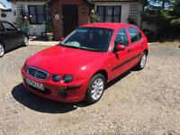 2004 Rover 25 1.6 Stepspeed CVT iL Automatic 59,000 miles!