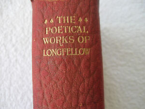ANTIQUE 1917 EDITION of...THE POETICAL WORKS of LONGFELLOW