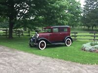 1930 Ford model A (restored)