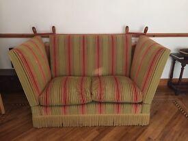 2 Alynwick Knole sofas by Hepple