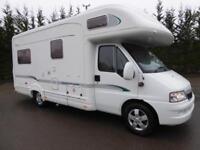 Bessacarr E725 4 berth rear lounge coachbuilt motorhome for sale Ref 13066