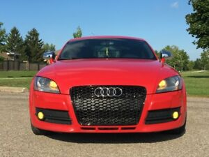 2008 Audi TT 3.2 S-tronic Brilliant Red on Black Alcantara 150k
