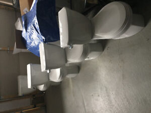 Four Toilets, Nearly New:   $150 for 4, or $40 each
