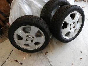 3 pneus 205/50r16