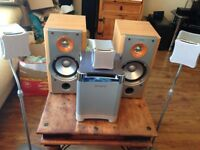 X2 SONY SS-NX1 120W & cube Sony surrounds centre & subwoofer