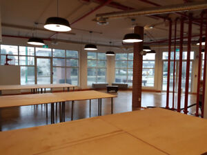 Open concept - office space for sub lease Burnaby North