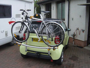 SMART Fortwo bicycle rack