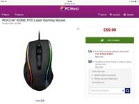 Roccat Kobe xtd laser wired gaming mouse