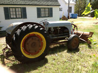 Ford 6N Tractor & implements