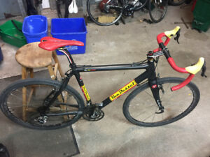Van Dessel Cyclocross bike - Full Carbon frame