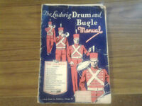 "manuel"" The  Ludwig drum  & bugle manual 1956"""