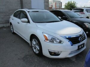 2013 Nissan Altima 2.5 SL SUNROOF! PUSH TO START! NAV! LEATHER!