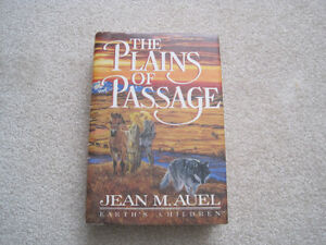 The Plains of Passage by Jean M Auel     (hard covered book)
