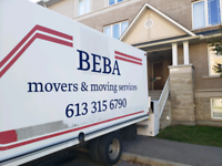 Movers and moving services. **Rates included below **