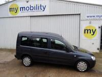 Vauxhall Combo DIESEL 4 Seat Wheelchair Access Disabled Car WAV