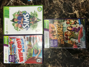 Wipeout Kinect / Kinect adventures / Sims 3