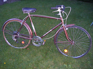Vintage CCM road bike for sale