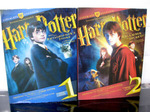 DVD Harry Potter Edition par Excellence  Année 1 & 2