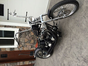 Low Km custom chopper - mint condition - must see