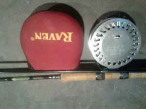 Float rod and float reel combo