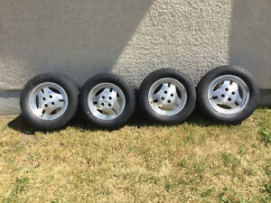 220/55 R 390  1983 Mustang GT Rims and Tires