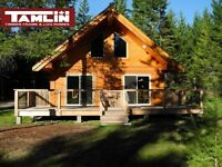Tamlin Homes - 1000 Sq Ft Cabin Special Is Here - Since 1977