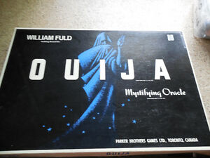 Vtg 1960's Parker Brothers OUIJA Board William FULD