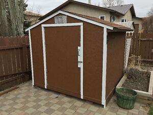 Storage Shed For Sale - Almost new - Wood