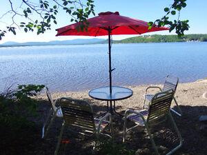 Chalet à louer à Piopolis sur le  bord du Lac Mégantic