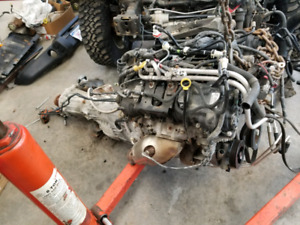 2014 Jeep Wrangler engine, transmission and transfer case