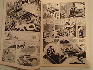 HOT ROD CARTOONS March 1972 number 45 Sarnia Sarnia Area image 5