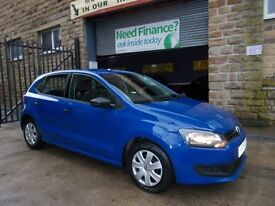 Volkswagen Polo 1.2 S A/C 60PS (blue) 2011