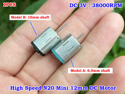 Mini N20 Motor Dc 3v 38000rpm High Speed Micro Motor Engine Diy Toy Rc Drone Car