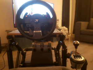 Volant pedal shifter THRUSTMASTER 514-718-3376