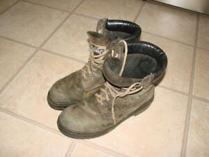 size 10 (Steel Toe Boots)