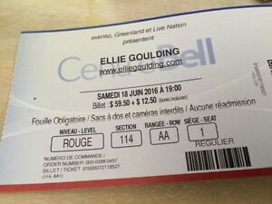 Ellie Goulding - Centre Bell---great seats