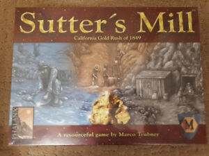 Sutter's Mill board game new in shrink