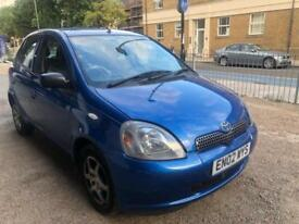 Toyota Yaris 1.0 VVTi Blue 2002 Colour Collection