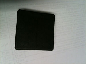 """2 inch Sq. tube end caps the price for the 2""""x 2"""" black Kitchener / Waterloo Kitchener Area image 1"""