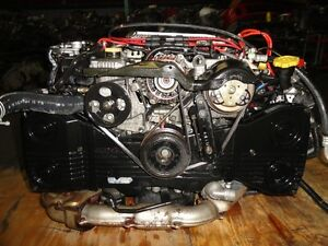 JDM SUBARU IMPREZA STI GC8 EJ20 TURBO ENGINE, 5SPEED TRANSMISSIO Prince George British Columbia image 3