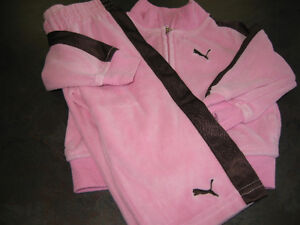 Girl's 12 months (puma) Jogging outfit