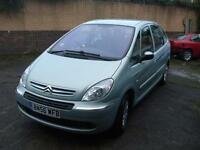 CITROEN XSARA PICASSO 1.6HDi 92bhp DESIRE WARRANTY FINANCE AVAILABLE